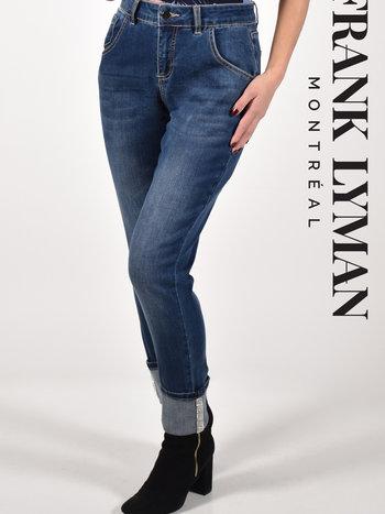 Frank Lyman Jeans Détail de Strass à l'Ourlet Frank Lyman 213104U