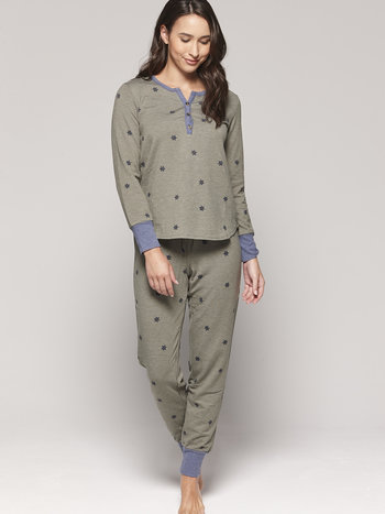 Claudel Pyjama 2 pcs Motif d'Étoiles Comfort & Co. LI117690