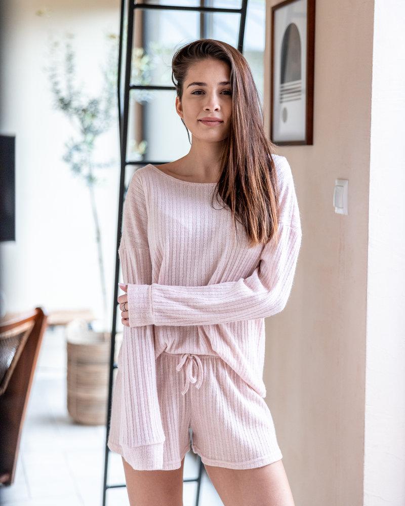 Sensis Pyjama 2 pcs Chandail et Short Côtelé Sensis Magnetism