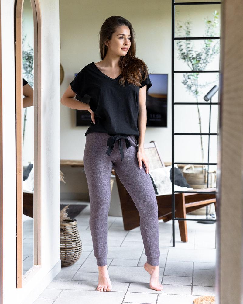 Sensis Pyjama 2 pcs Pantalon et T-shirt Col V Sensis Sophie