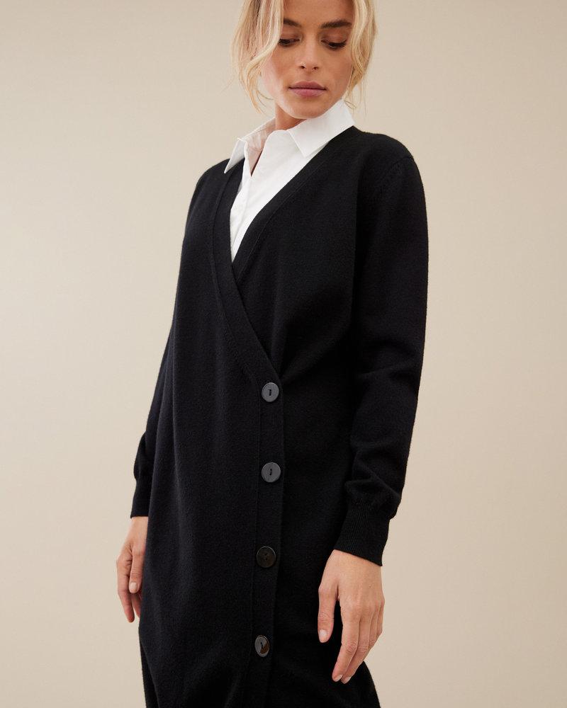 Uchuu Robe Midi Cache-coeur Style Cardigan Uchuu CF21-009
