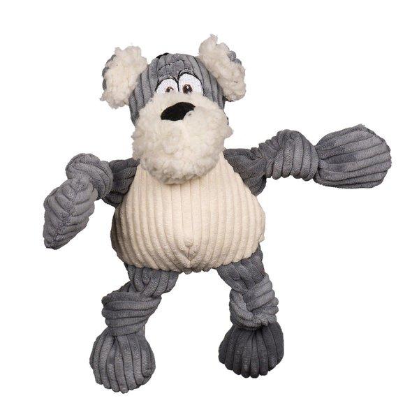 Huggle Hound HuggleMutt Roscoe Knottie Dog Toy, Small