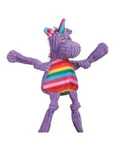 Huggle Hound Rainbow Unicorn Knottie Dog Toy
