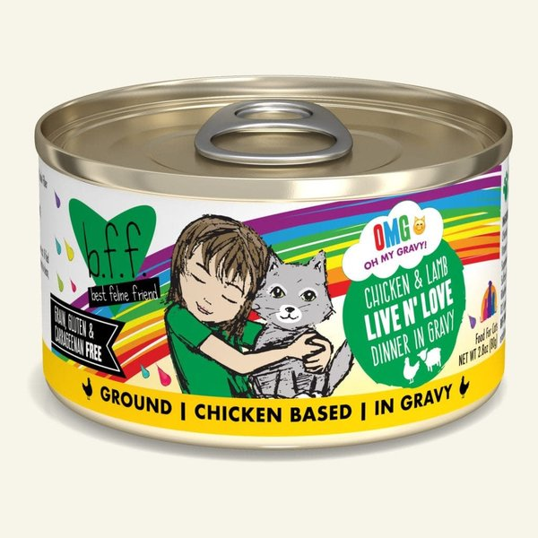Weruva BFF OMG! Canned Cat Food, Live N' Love