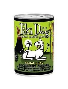 Tiki Kauai Luau Chicken & Lobster Dog Canned Food, 14 oz can