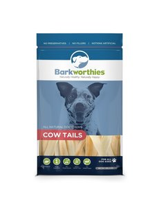 Barkworthies Cow Tails, 6 oz bag