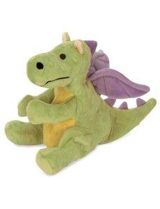 GoDog Mini Dragon Dog Toy, Green