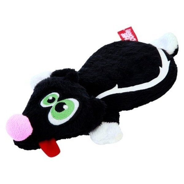 Hear Doggy Flats Black Skunk Dog Toy