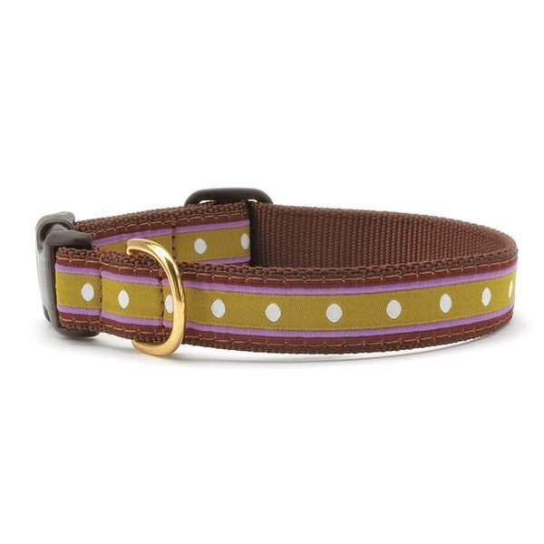Up Country Dotty Stripe Collar, Small
