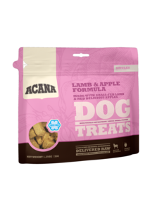 Acana Lamb & Apple Dog Treat, 3.25 oz bag