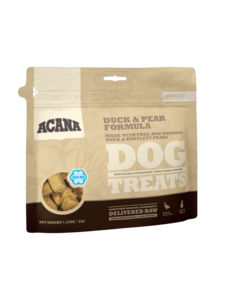 Acana Duck & Pear Dog Treat, 3.25 oz bag