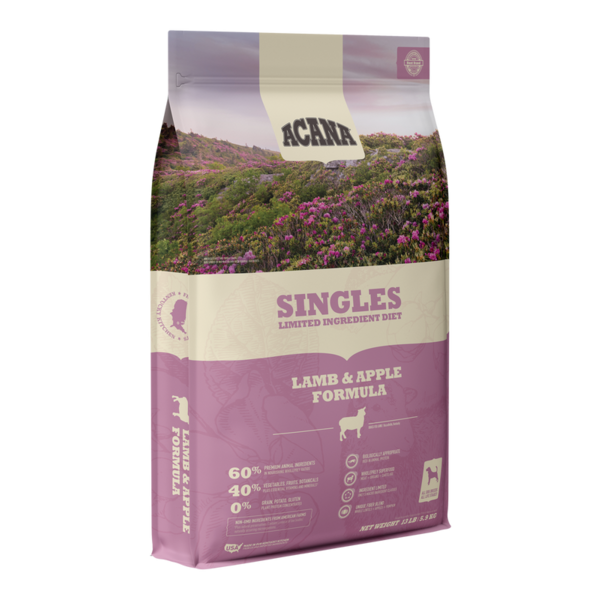 Acana Acana Singles Dry Dog Food, Lamb & Apple