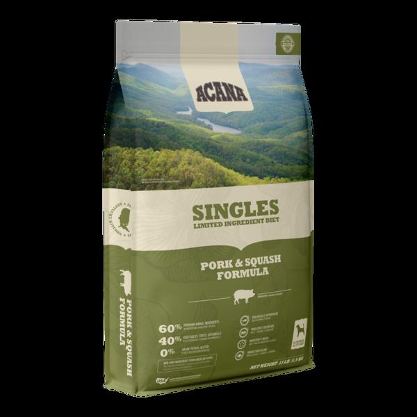 Acana Singles Dry Dog Food, Pork & Squash