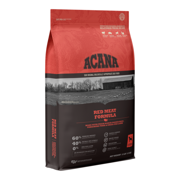 Acana Grain-Free Dry Dog Food, Red Meat