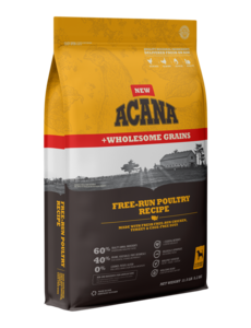 Acana Acana Wholesome Grains Dry Dog Food, Free-Run Poultry