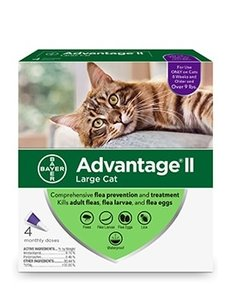 Advantage 2 Bayer Cat Flea Prevention & Treatment, 9 lb+