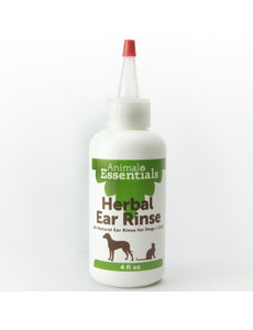 Animal Essentials Herbal Ear Rinse, 4 oz bottle