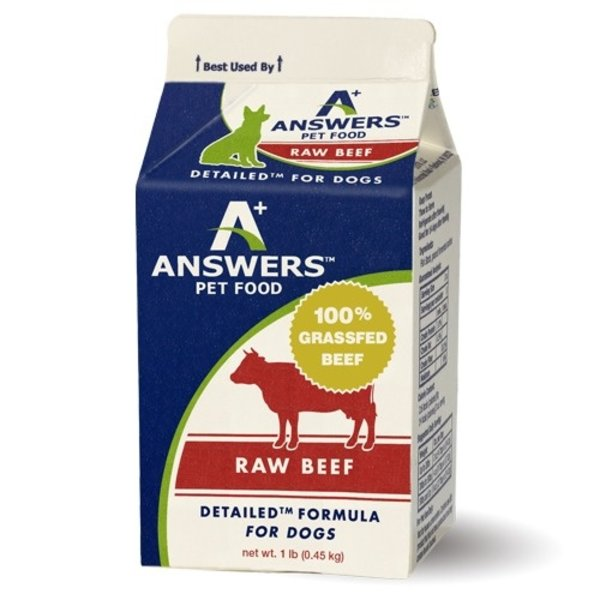 Answers Answers Pet Food Detailed Beef Pounder