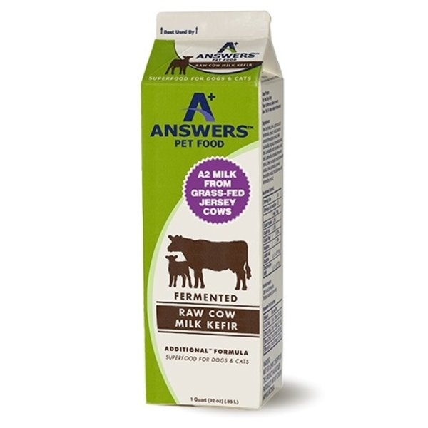 Answers Answers Pet Food Additional Raw Cow's Milk Kefir, 32oz