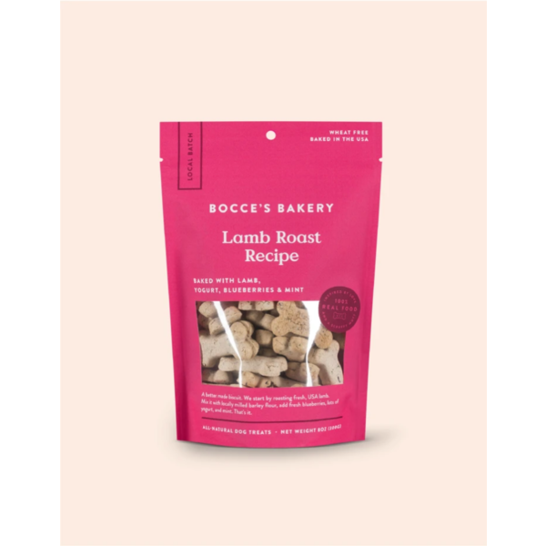 Bocce's Small Batch Lamb Roast Biscuit, 8oz bag