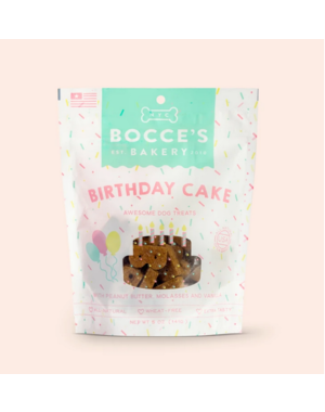 Bocce's Bocce's Bakery Birthday Cake Dog Treat, 5 oz bag