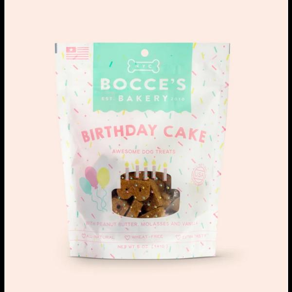 Bocce's Bocce's Bakery Birthday Cake Dog Treat, 5 oz bag