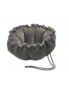Bowser Pet Buttercup Bed, Pewter Bones, Large