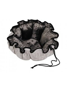 Bowser Pet Bowsers Buttercup Bed, Silver Treats, Large