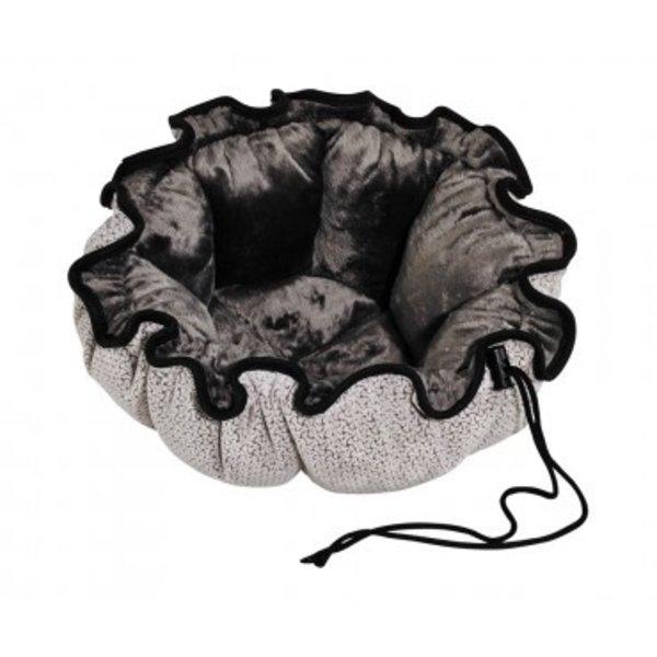 Bowser Pet Buttercup Bed, Silver Treats, Large