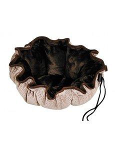 Bowser Pet Buttercup Bed, Cappucino Treats, Large
