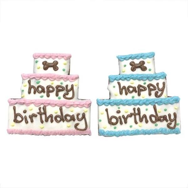 Bubba Rose Individually Wrapped Happy Birthday Cake Treat