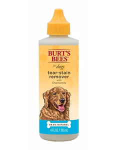 Burts Bees Tear Stain Remover, 4 oz bottle