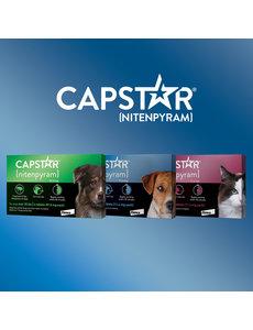 Capstar Capstar Flea Treatment for Cats, 11.4mg / 6ct box