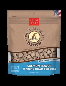 Cloud Star Cloud Star Tricky Trainers Crunchy Salmon, 8 oz bag