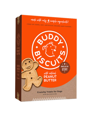 Cloud Star Cloud Star Buddy Biscuits with Peanut Butter Oven Baked Dog Treat, 3.5 lb bag