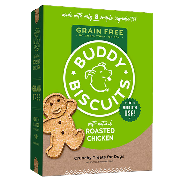 Cloud Star Cloud Star Buddy Biscuits with Roasted Chicken Oven Baked Dog Treat, 14 oz box