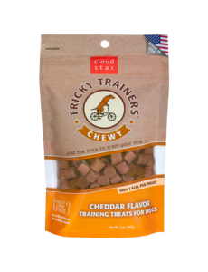 Cloud Star Cloud Star Tricky Trainers Soft & Chewy Cheddar, 5 oz bag
