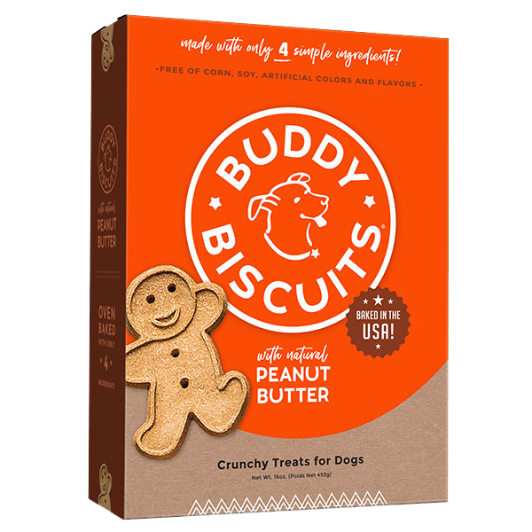 Cloud Star Buddy Biscuits Homestyle Peanut Butter, 14 oz box