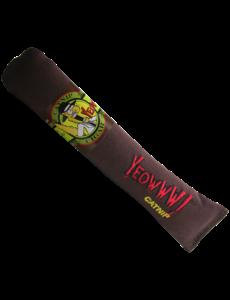 Ducky World Yeowww! Catnip Brown Cigar Cat Toy