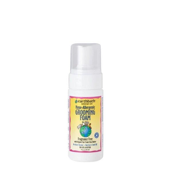 Earth Bath Earthbath Hypo-Allergenic Grooming Foam for Cats, 4 oz bottle