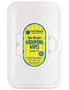 Earth Bath Grooming Wipes, 100 ct