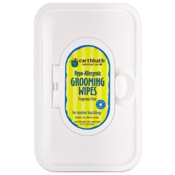 Earth Bath Earthbath Grooming Wipes, 100 ct