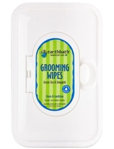 Earth Bath Grooming Wipes, 28 ct