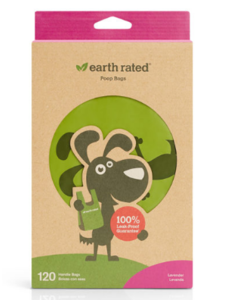 Earth Rated Handle Waste Bags, 120 ct box