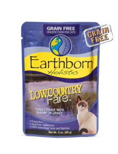 Earthborn Grain-Free Cat Food, 3 oz pouches