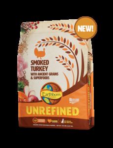 Earthborn Unrefined Dry Dog Food, Smoked Turkey