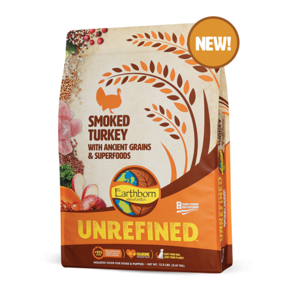 Earthborn Earthborn Unrefined Dry Dog Food, Smoked Turkey