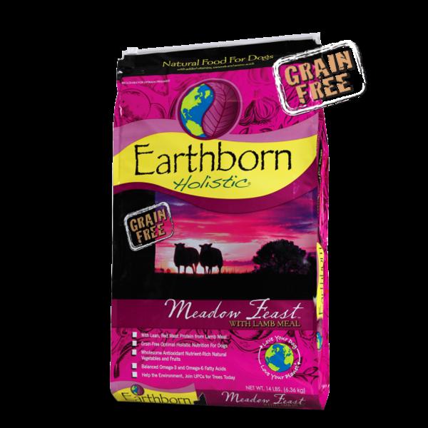 Earthborn Holistic Grain-Free Dry Dog Food, Meadow Feast