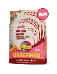 Earthborn Unrefined Dry Dog Food, Roasted Rabbit