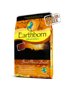 Earthborn Holistic Grain-Free Dry Dog Food, Great Plains Feast